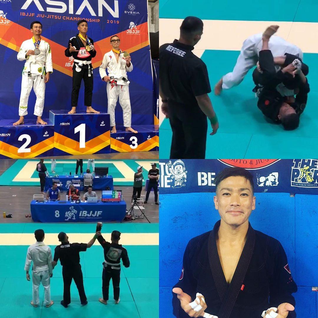 アジア最大の柔術トーナメント、アジア柔術選手権にTheパラエストラ沖縄から玉城貴之さんが出場し見事優勝!! 金メダルを獲得致しました! Theパラエストラ沖縄からアジアチャンピオンの誕生です^_^ 素晴らしい活躍です。  今回サポートに入って頂いたパラエストラ川崎代表北出さん、パラエストラメンバーの方々、ありがとうございました!  #パラエストラ #沖縄 #那覇 #与儀 #MMA #shooto #コザ #総合格闘技 #修斗 #キックボクシング #柔術 #jiujitsu #ダイエット