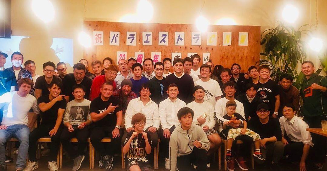 Tsuruya Hiroshi Entertaiment 20th Anniversary Surprise Party at Paraestra Matsudo!  Our team will last forever!!! October 2019.  #鶴屋浩 #パラエストラ松戸 #パラエストラ千葉ネットワーク #THE